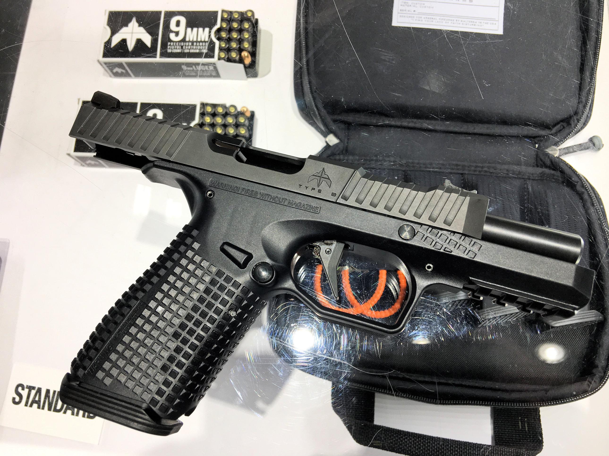Archon Firearms Type B Striker-Fired Semi-Auto 9mm Combat