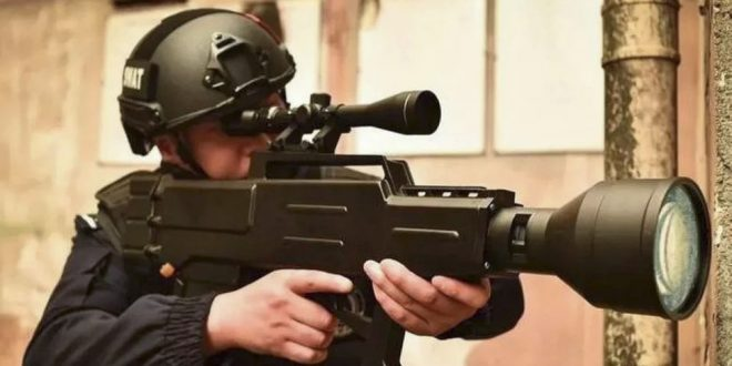 Chinese ZKZM-500 Laser Rifle: Scary Skin Carbononizer, or Pure People's Propaganda Power Play and Posturing?