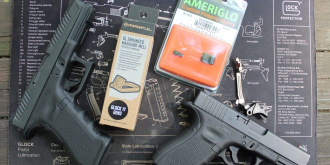 Improving your Glock for under $100 Part II: Connectors, Sights and Magpul Magwell!