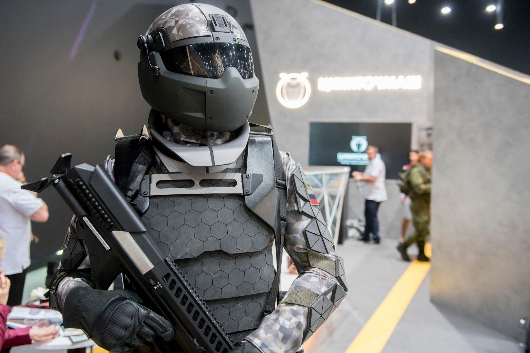 Militao Update: Rostec Russian Ratnik-3 Future Soldier Military 'Stealth