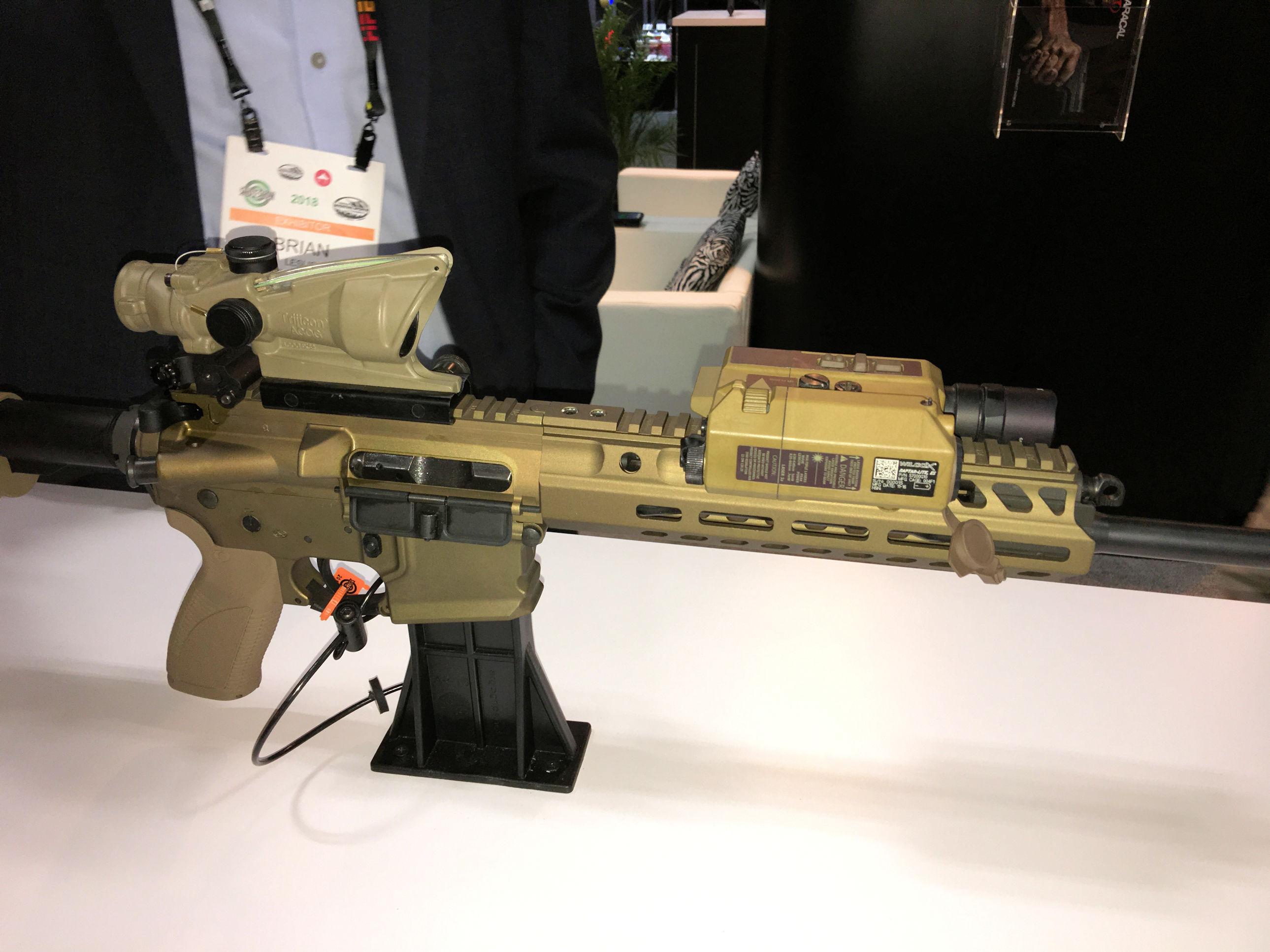Caracal CAR 816 Short-Stroke Gas-Piston/Op-Rod Tactical AR