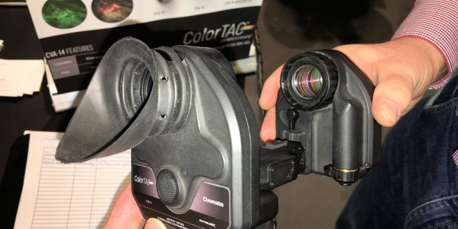 TNVC/Chromatra ColorTAC CVA-14 Color Night Vision Module for PVS-14 Monocular: Gemini 2-Channel Colorizing Tech Turns Green to Full Color Night Vision! (Video!)
