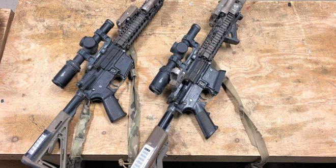 Tactical AR-15/M4/M4A1 Carbine Aftermarket Accessories for Military Combat Applications: The Competition-to-Combat Crossover Part, Part 4