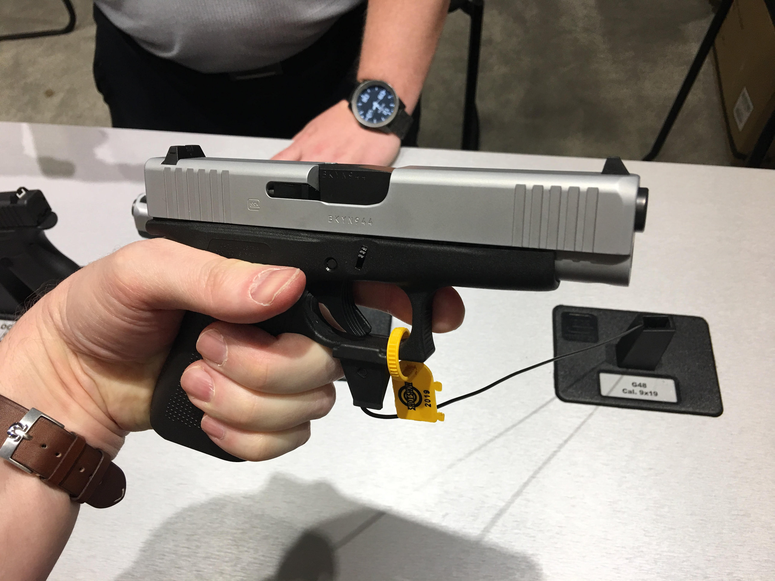 Glock 48 (G48) Simline, Single-Stack Compact Concealed Carry