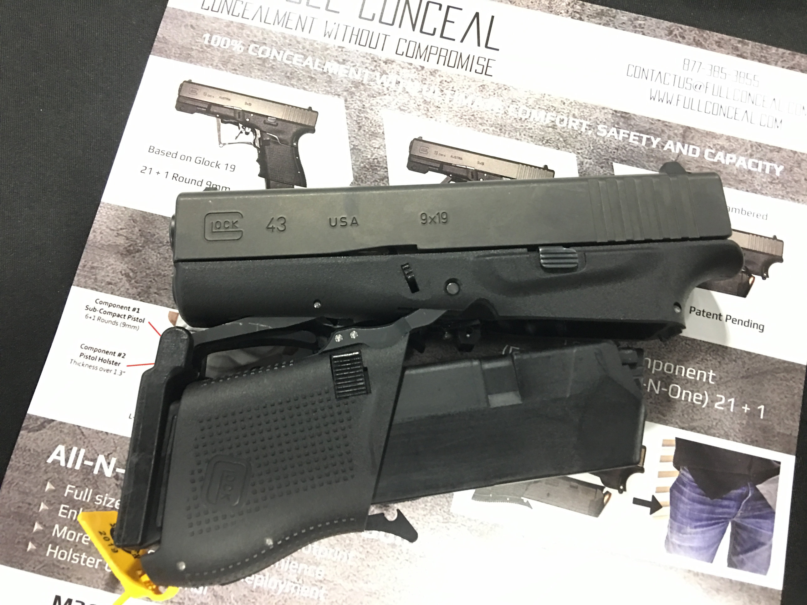 Full Conceal FC M3D (G19) and FC M3S (G43): Fantastic
