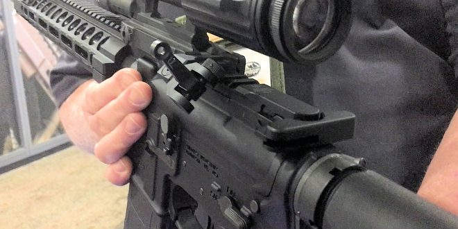 Midwest Industries Combat Rifle Sight (MI CRS) Sets for Tactical AR-15 Carbine/SBR's: 45-Degree-Offset Flip-Up Back Up Iron Sights (BUIS), Too! (Video!)