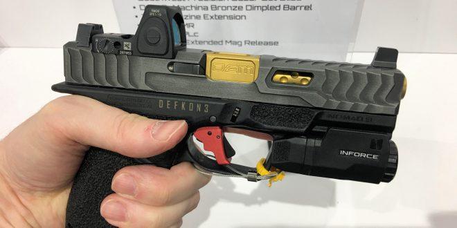 Nomad 9 Frame Aftermarket Gen4 Glock 19 (G19)-Type Modular Pistol Grip Frame for Custom Pistol Builders (Video!)