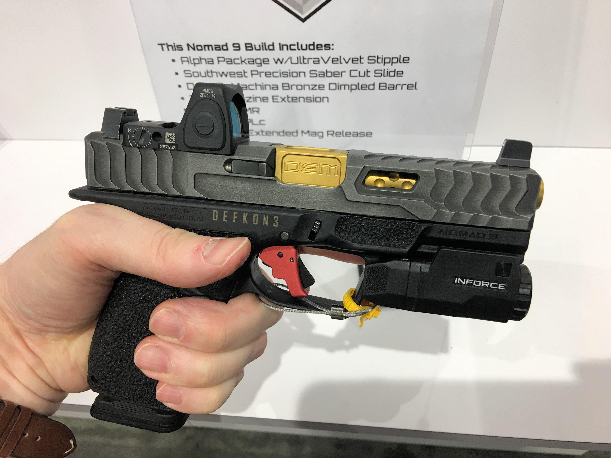 Nomad 9 Frame Aftermarket Gen4 Glock 19 (G19)-Type Modular