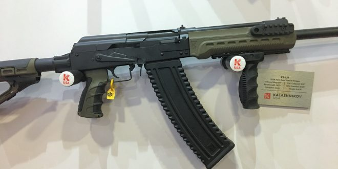 Kalashnikov USA KS-12T Tactical Mag-Fed AK-Style Semi-Auto 12-Gauge Shotgun! (Video!)