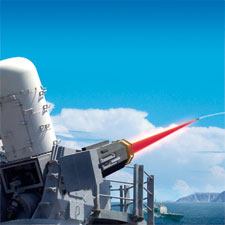 US Navy Approves Raytheon Laser Weapon System (LaWS) Shipborne Laser for Ship Defense in Persian Gulf after Successful Testing