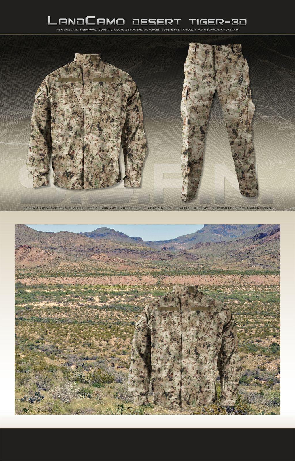 <!--:en-->SSFN ExtremePro LandCamo Terrain-Specific/Mission-Specific Digital Combat Camouflage Patterns <!--:-->