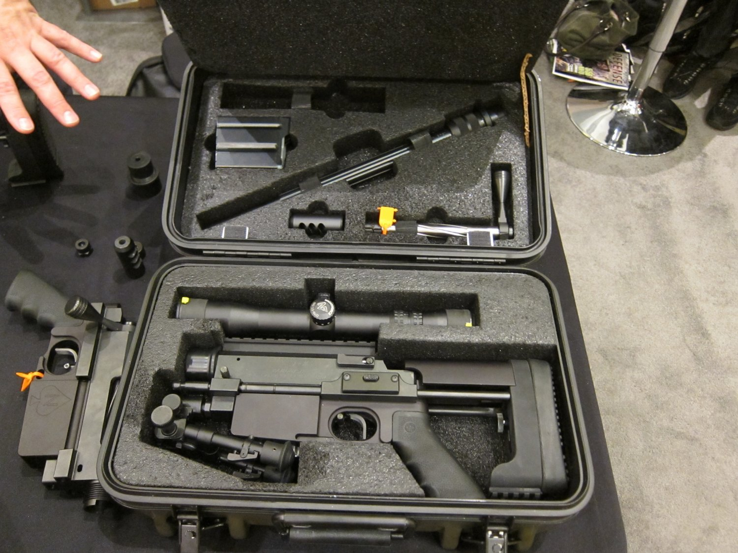 <!--:en-->Nemesis Arms Vanquish Mini-Windrunner-Type Lightweight Modular/Multi-Caliber Breakdown Sniper/Anti-materiel Rifle for Military Special Operations Combat and Civilian Tactical Shooting Applications: Nasty Little Piece of Manpackable/Backpackable Ballistic Business!<!--:-->