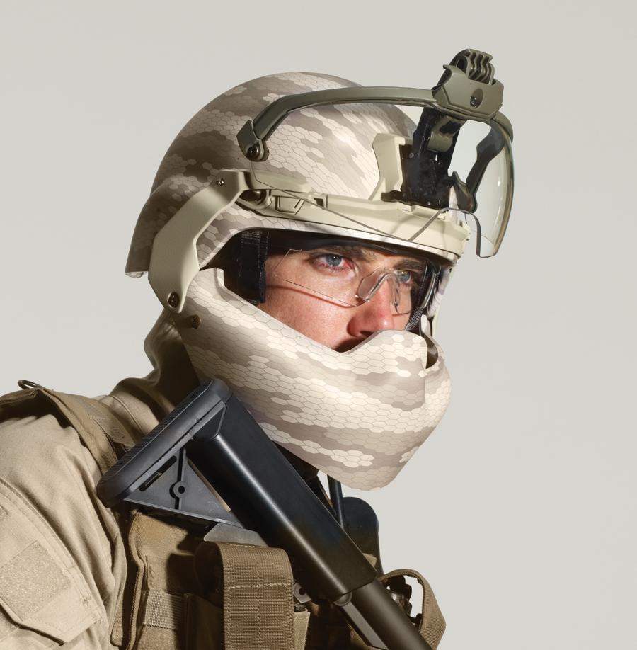 "<!--:en-->Revision Military BATLSKIN (""Battle Skin"") Modular Head Protection System (MHPS) Lightweight Ballistic Combat Helmet, Visor and Mandibular Guard/Ballistic Face Shield: Complete Ballistic Maxillofacial Protection (Facial Armor) for the 21st Century Warfighter <!--:-->"