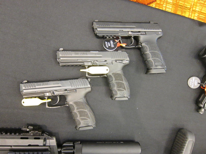 Vista Auto Sales >> Heckler & Koch HK P30 9mm Parabellum/9x19mm NATO, HK45 and HK45 Compact (HK45C)/Mk 24 Mod 0 ...