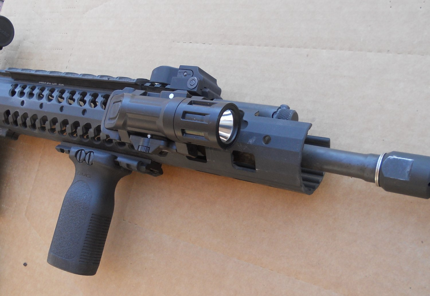 DR Range Report: INFORCE WML (Weapon Mounted Light) Tactical White Light/Infrared (IR) Illuminator: A Shooter's Report (Detailed Range Report with Photos and Video!)