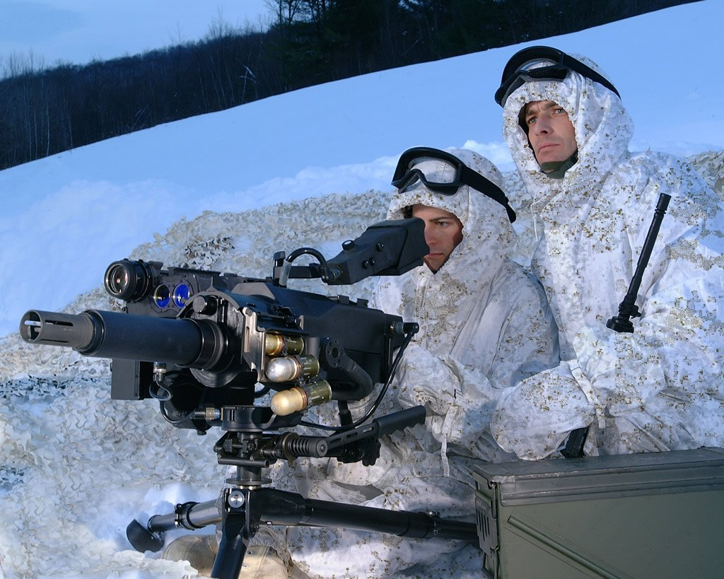 PenCott-Snowdrift Arctic Camouflage Pattern for Military Infantry Combat Enters Production: New Combat Camo Will Debut at SHOT Show 2012