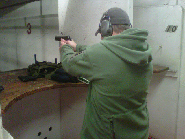 Gov. Rick Perry and DR's David Crane Tactical Jacket and Gun Buddies? Rick Perry does some combat pistol shooting while wearing Triple Aught Design/TAD Gear Recon Hoodie combat fleece jacket and shoots LaRue Tactical OBR/OSR-type 7.62mm/.308 AR rifle/carbine at the range.