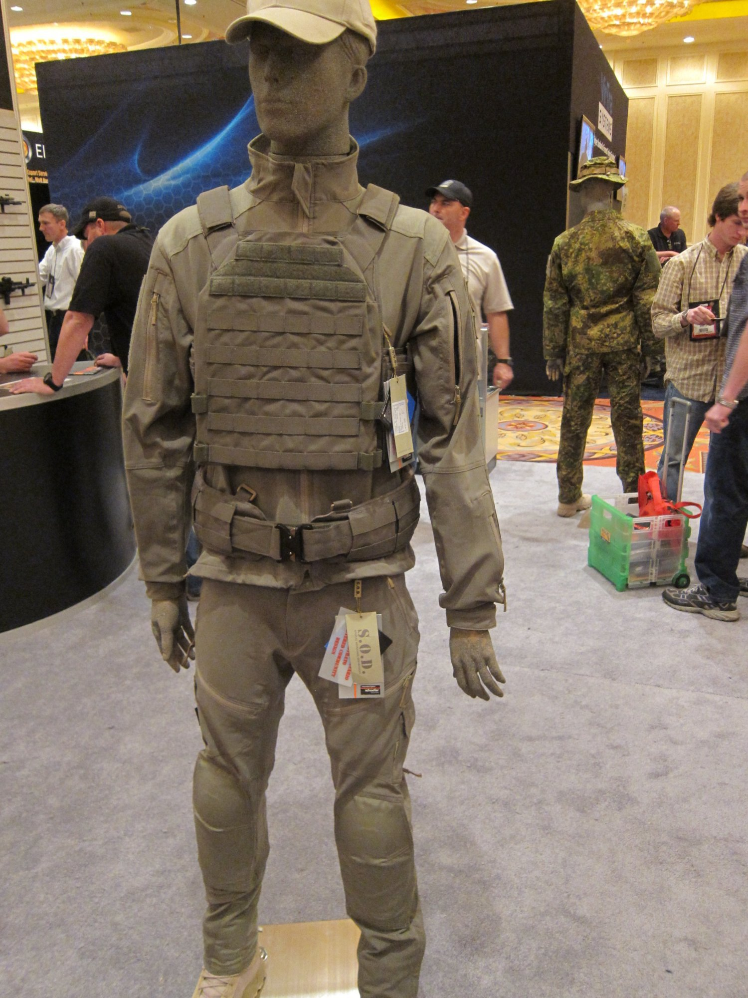 SOD Gear/SOD USA Stealth ADP Battle Jacket and Pants Made with Schoeller Performance Fabric: High-Tech Combat Clothing for Military Special Operations Forces (SOF) and Civilian Tactical Shooters