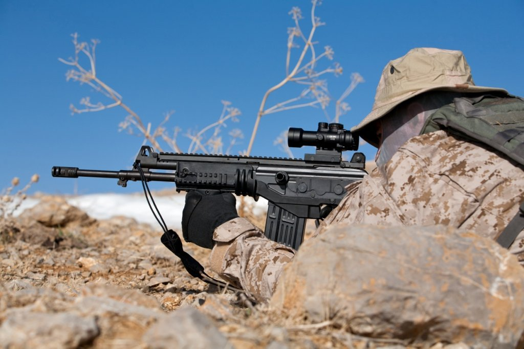 """Israel Weapon Industries IWI ACE 52 7.62x51mm NATO """"Assault Rifle"""" Battle Rifle for Military Infantry Special Operations Forces (SOF): Coming to the Commercial Market for Civilian Tactical Shooters?"""