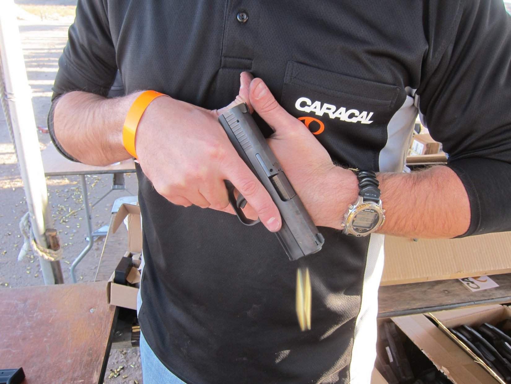 Caracal F and Caracal C Low-Bore-Axis, Striker-Fired Polymer-Frame 9mm Combat Pistols for Concealed Carry (CCW) and Covert Missions: Tactical Pistol Tack Drivers at the Range!