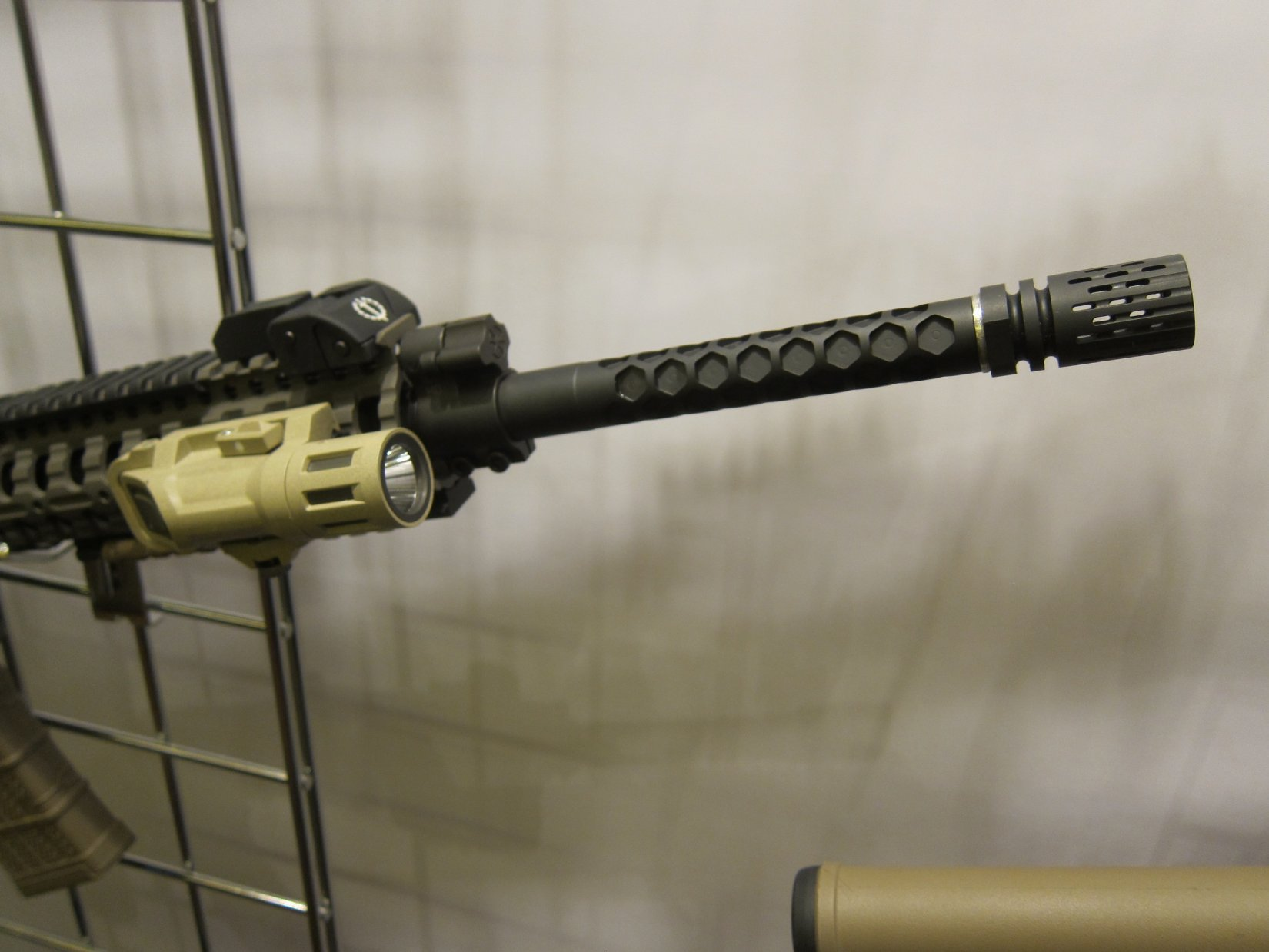 Legion Firearms LF-15d and LF-15c Tactical AR-15 Carbine/Rifle Packages with Hexagonally-Fluted/Dimpled Polygonal Barrel, Phase 5 Tactical Ambi Battle Latch/Charging Handle and BattleComp 2.0 SCV Compensator–and Custom Legion LF-P45 .45 ACP Tactical 1911 Pistol! (Video!)