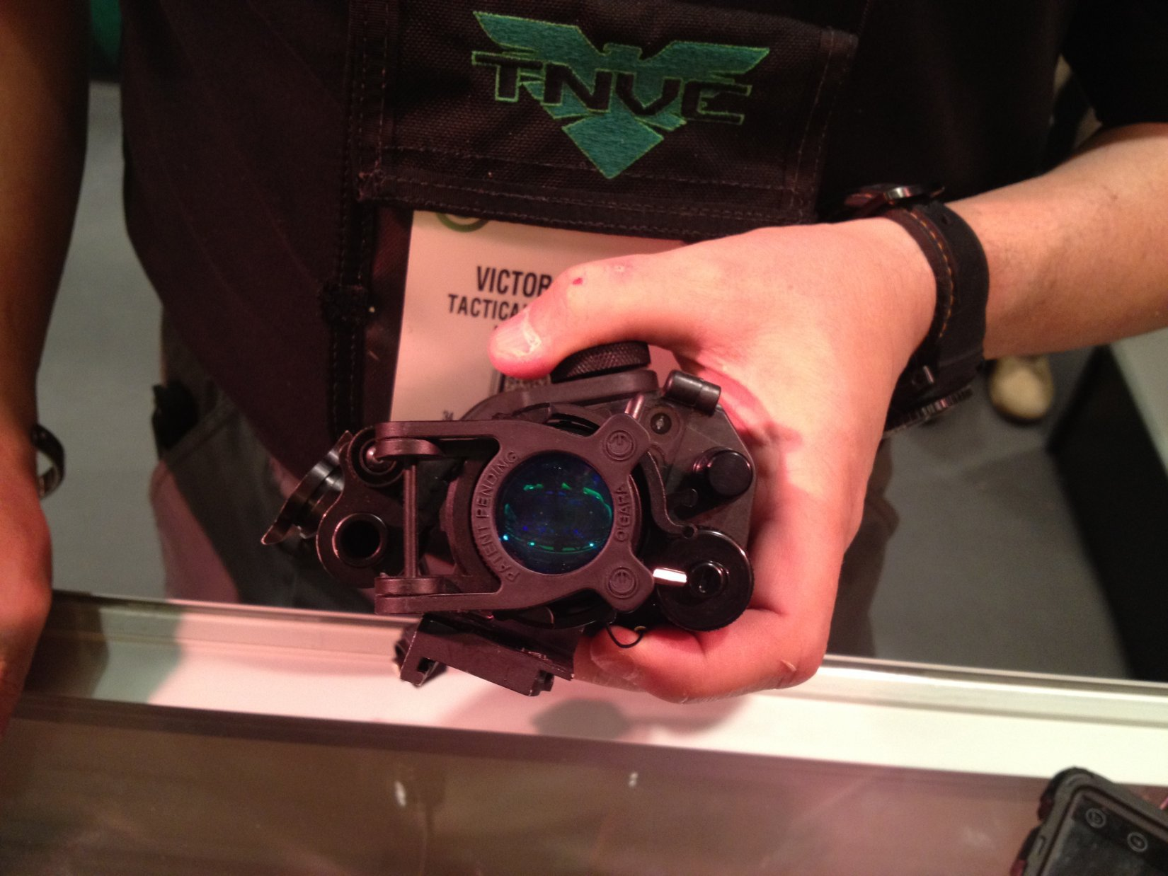 Tactical Night Vision Company (TNVC) Universal Re-Focus Ring (RFR) Flip-Down/Flip-Up Lens for Night Observation Devices (NODS): Instantly Refocus Your Monocular or Goggle During Tactical Night Ops