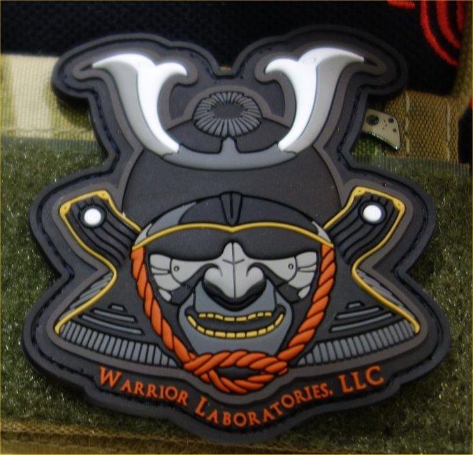 Cool Patch Alert: Warrior Laboratories Samurai Warrior Tactical Patch (PVC Morale Patch)