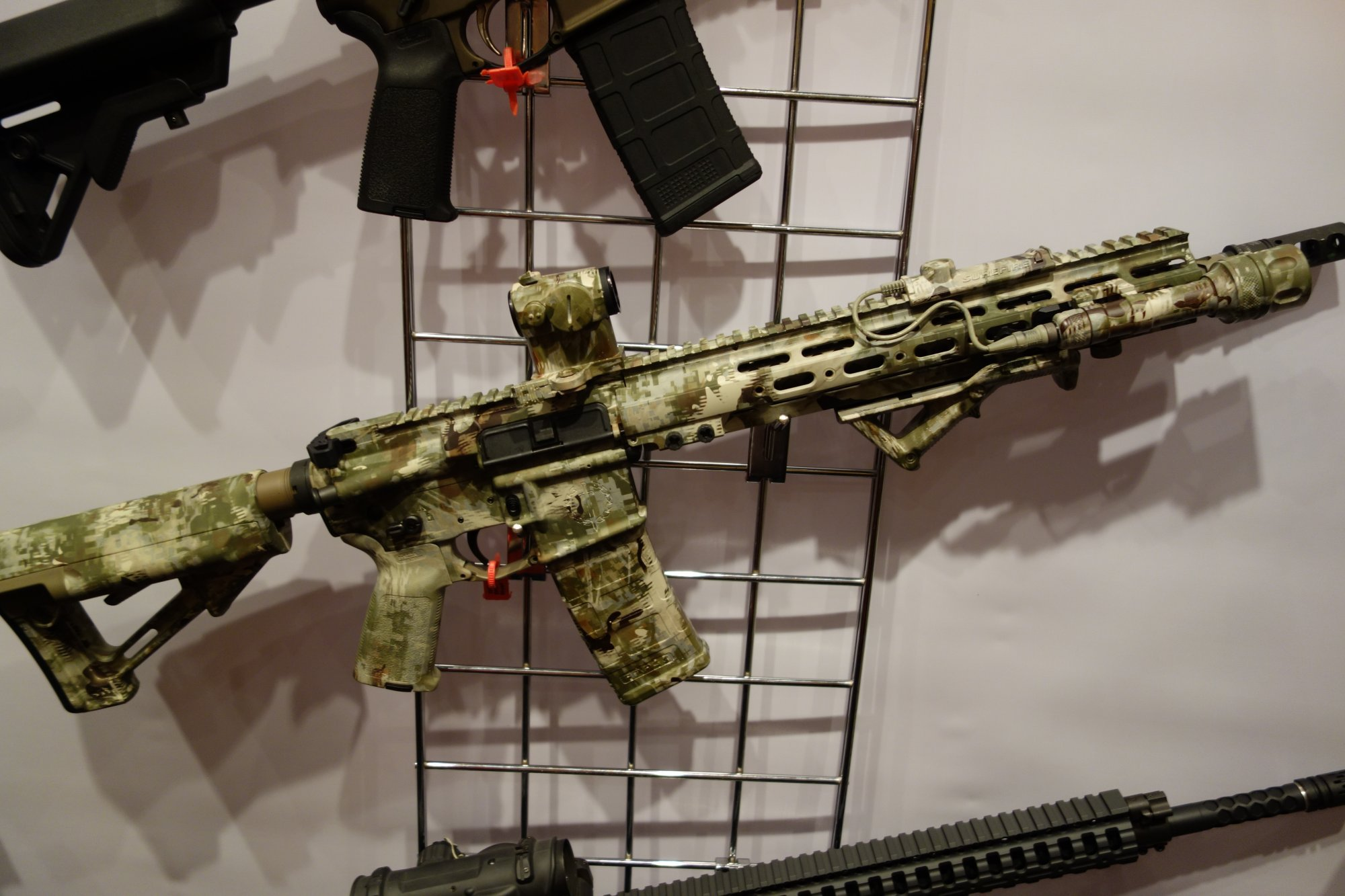 Legion Firearms LF-4D Orion Design Group (ODG) Edition: Signature Series High-End Tactical AR-15 Carbine with ODG Lupus Camouflage Pattern Finish (Video!)