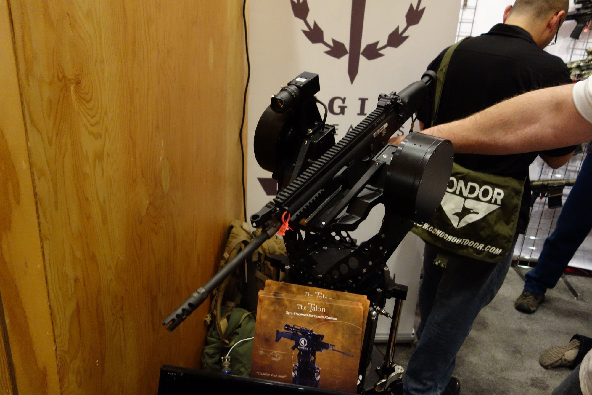 Paradigm SRP Talon Gyro-Stabilized Marksman Platform/Universal Weapons Mount (GSMP/UWM): Gun Mount for Sniping while Moving…Fast (Video!)
