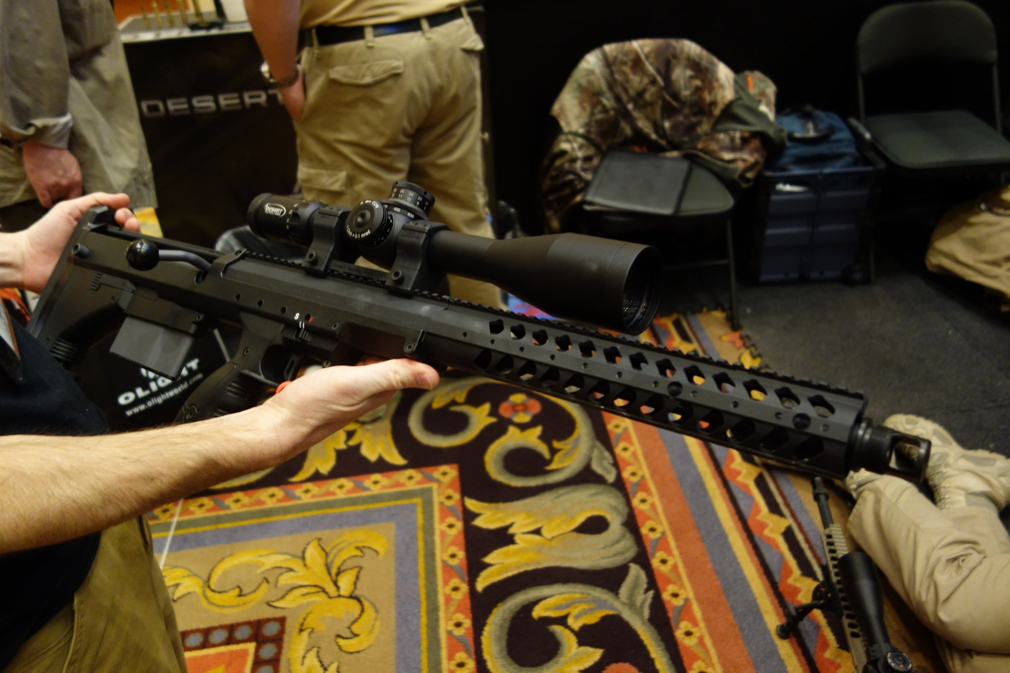 Desert Tech (formerly Desert Tactical Arms, or DTA) Stealth Recon Scout-A1 (DT SRS-A1) Rifle Chassis System: Compact, Modular and Super-Accurate Multi-Caliber Bullpup Anti-Materiel Sniper Rifle/Carbine