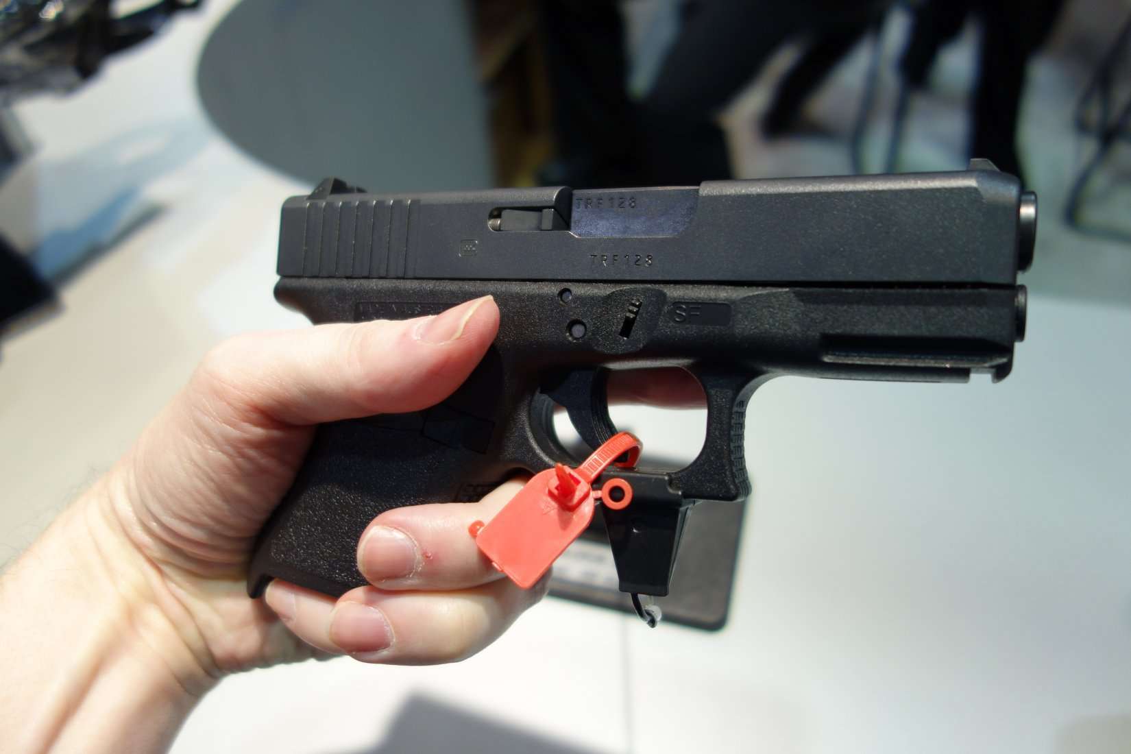 Glock 30S (G30S) Compact .45 ACP Semi-Auto High-Capacity Combat/Tactical Pistol for Concealed Carry (CCW) Applications and Undercover Operations: Glock 36 Slide Meets Glock 30SF Frame! (Video!)