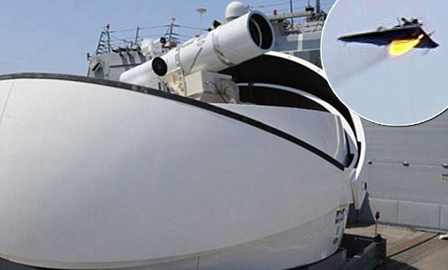 Laser Weapon System (LaWS) Solid-State Infrared (IR) Shipborne Laser Goes Operational, Shoots Down Target Drone