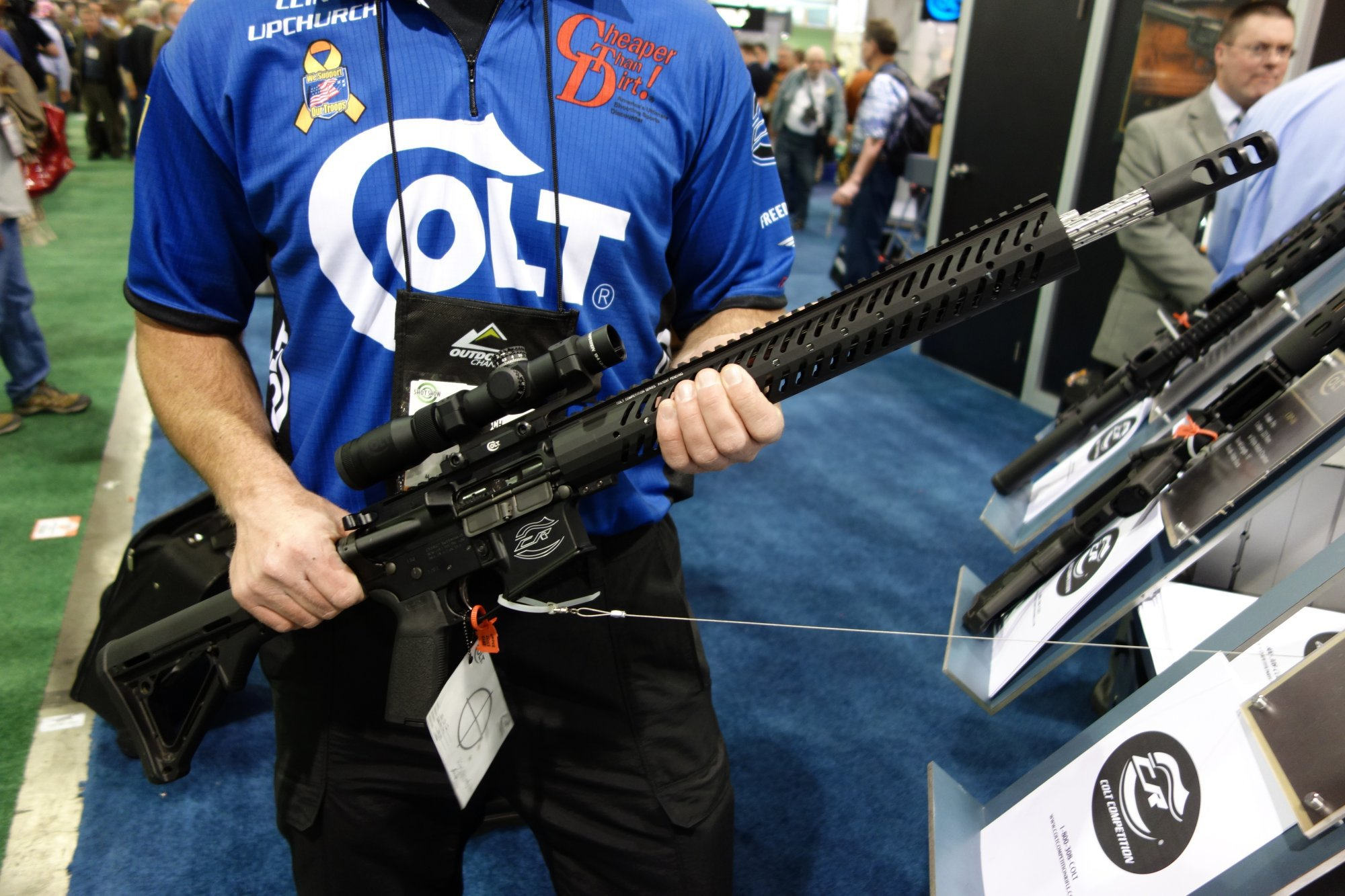 Colt Pro CRP-18 and Pro CRP-16 AR-15 Carbine/Rifles for Tactical 3-Gun Competition/Competitive Shooting: Adjustable Gas System, Geissele SSA-E Trigger, and Fluted Barrel! (Video!)