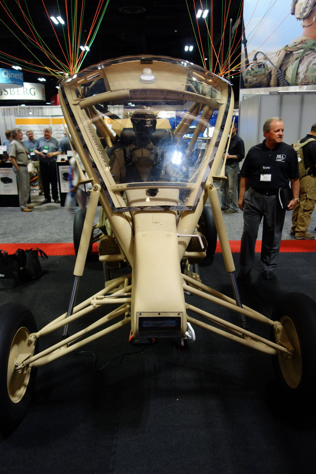 S&S Precison Stalker MPTV (Multi-Purpose Tactical Vehicle) Powered Parafoil Combat Assault Vehicle Aircraft/Ground Vehicle for Military Special Operations Forces (SOF): Up to 156 MPH on Land, and 61 Knots in the Air! (Photos!)