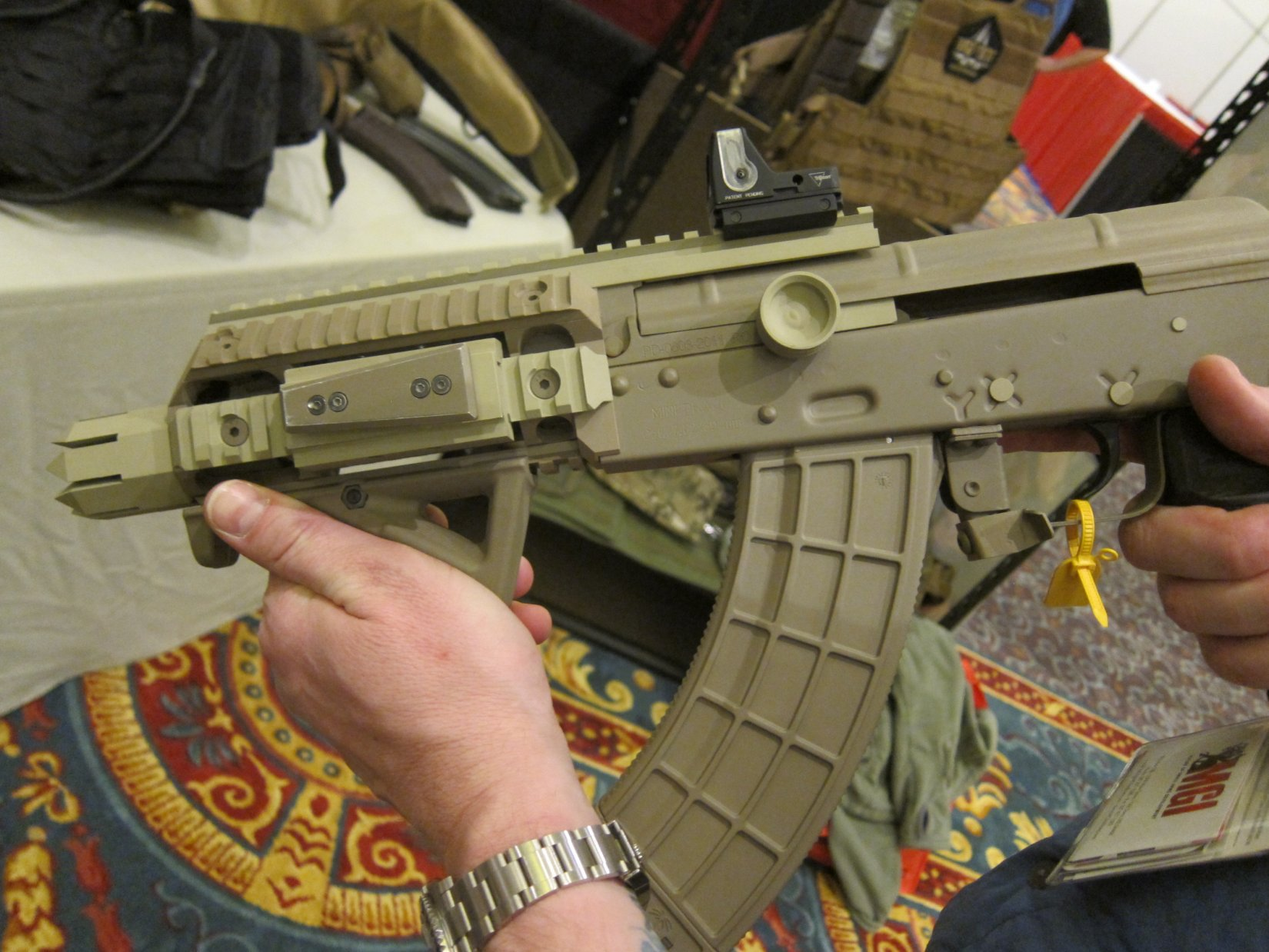 Bad Company Tactical Rapid Retention System (BCT R2S) Holster System for Tactical SBR (Short Barreled Rifle)/Sub-Carbine-Type Personal Defense Weapons (PDW) and Pistols (Video!)