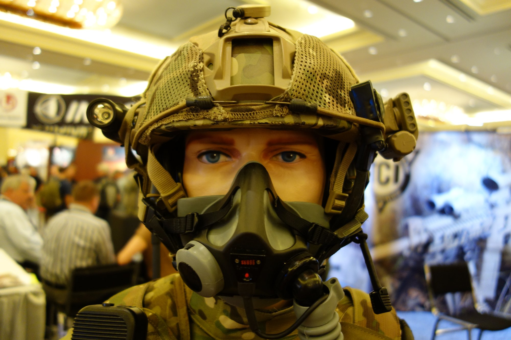 Tactical Command Industries TCI Liberator III ITJCS-TACP/JTAC Secure Dual-Comm Tactical Headset with Integrated Digital Hearing Protection for Military Airborne and Ground Ops (Video!)