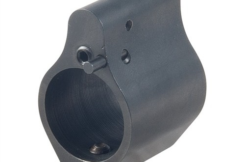 Syrac Ordnance Lo-Pro/Lo-Vis (Low-Profile/Low-Visibility) Adjustable Gas Block for tactical AR Carbine/SBR's (AR-15/M16 and AR-10/SR-25-type): Melonited Stainless Steel Gas Block!