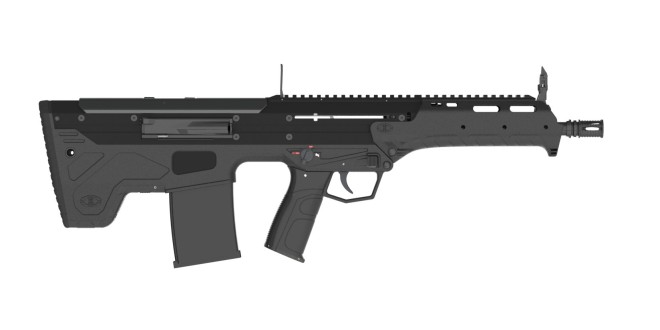 Desert Tech DT MDR and MDR-C (Micro Dynamic Rifle) Modular, Multi-Caliber and Ambidextrous Semi-Auto Bullpup Combat/Tactical Rifle/Carbine Systems for Tactical Ops