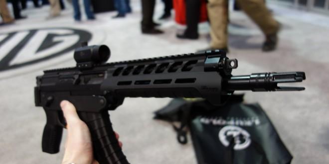SIG SAUER SIG556xi Modular, Multi-Caliber (5.56mm NATO, 300 AAC Blackout/300BLK, 7.62x39mm Russian) Gas Piston/Op-Rod Combat/Tactical Rifle/Carbine/SBR with Kalashnikov AK-47/AKM Configuration Capability!