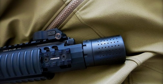 FERFRANS CQB Modular Muzzle Brake System (MMBS) with FF Concussion Reduction Device (CRD) for Semi-Auto-Only and Select-Fire/Full-Auto Tactical AR-15 Carbine/SBR's (Video!)