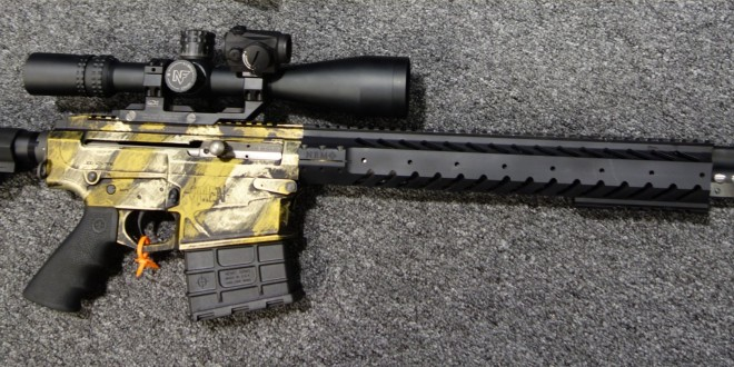 NEMO Arms Omen Recon .300 Win Mag (.300WM) 18″ Tactical AR Carbine/Rifle with Recoil Reduction System Bolt Carrier Group (RRS BCG), Quick-Detach (QD) Side-Charging Handle and PROOF Research Carbon Fiber Match-Grade Barrel (Video!)