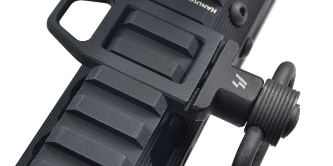 Strike industries SI Ambush Low-Profile Sling Loop (LPSL) for Tactical AR-15 Rifle/Carbine/SBR's: Slick, Intelligent Design for Optimal Combat/Tactical Shooting Utility