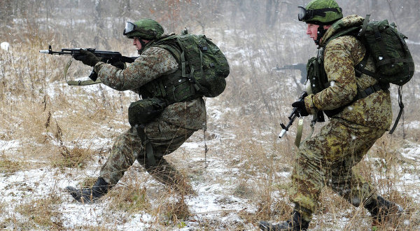 Russian Nano-Armor Coming in 2015 for Future Soldier 'Warrior Suit', and Russian Spetsnaz (Military Special Forces) Already Running Improved 6B43 Composite Hard Armor Plates, New Plate Carriers and Combat Helmets, AK Rifle/Carbines, GM-94 Grenade Launchers and other Tactical Gear in Crimea, Ukraine