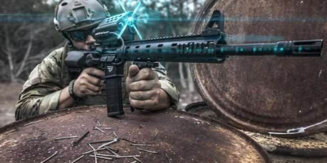 TrackingPoint TP AR 556 PGF (Precision Guided Firearm), TP AR 300 PGF, and TP AR 762 PGF: 5.56mm NATO/.223 Rem., 300 Blackout (300BLK) and 7.62mm NATO/.308 Win. Tactical/Battle AR Carbine/SBR's with TTX XACT Combat/Tactical Smart Scope Technology…Tag, Track and Kill Moving Targets at up to 500-750 Yards Out!