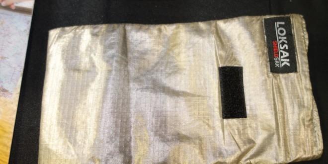 LOKSAK SHIELDSAK Fabric Faraday Cage/Anti-RF Protective Bag Family by LOKSAK: Flexible Fabric RF Fortress Provides Anti-Hacking/Anti-Tracking Radio Frequency Camouflage