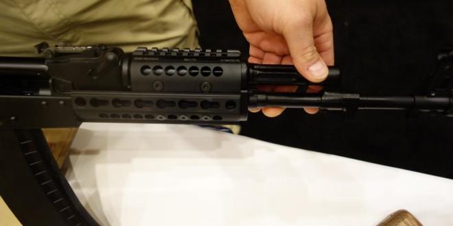 Midwest Industries MI AK-SSK KeyMod Handguard: KeyMod Tactical Handguard/Rail system for 21st-Century Kalashnikov AK-47/AKM Weapons! (Video!)