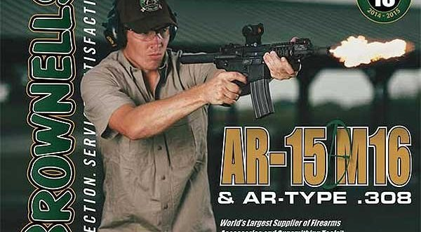 Brownells Releases AR-15/M16 Catalog #10, and Brownells Back in Black Rifle Event Running through Black Friday Weekend!