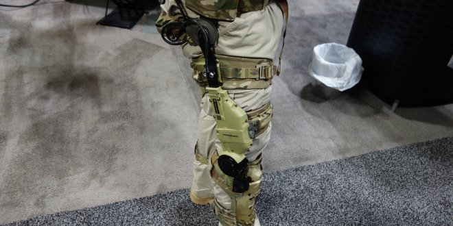 B-TEMIA/Revision Military Prowler Human Augmentation System (HAS): Combat Exoskeleton Makes the Future Soldier Stronger, Faster, Better