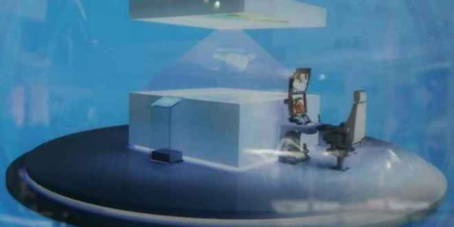 AVIC Holographic Ground Control Station (GCS) for UAS/UAV/UCAV/Drone Aircraft Operations: Chinese Military Goes SciFi