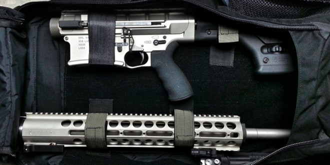 DRD Tactical KIVAARI AR-Type Quick-Takedown Semi-Auto .338 Lapua Magnum Anti-Materiel/Sniper Rifle/Carbine for some SERIOUSLY Long-Range, Manpackable Shootin' n' Scootin'!